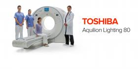 TOSHIBA HAT DEN NEUEN AQUILION LIGHTNING 80 CT SCANNER DARGESTELLT - Bimedis - 1